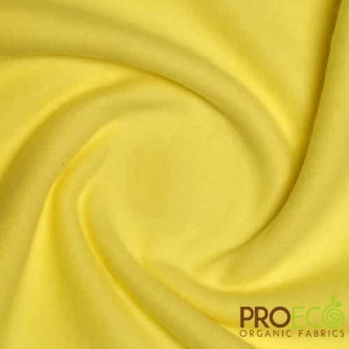 ProECO® Bamboo Fleece Citron Yellow