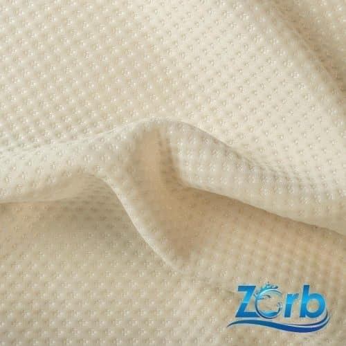 Zorb® 3D Stay Dry Dimple LITE Silver Fabric with SILVADUR™