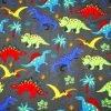 Dinosaurs Cotton Jersey Fabric