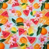 Fruits Cotton Jersey Fabric