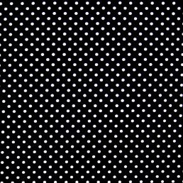 Black and White Dobby Spot Cotton Fabric
