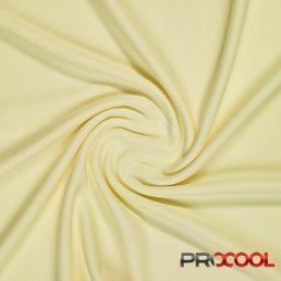 ProCool® Athletic Interlock Fabric with SILVADUR™ & COOLMAX® Baby Yellow