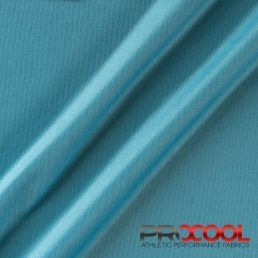 ProCool® Athletic Interlock Fabric with SILVADUR™ & COOLMAX® Denim Blue