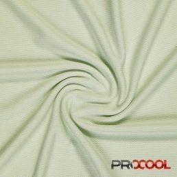 ProCool® Athletic Jersey Mesh Fabric with COOLMAX® Celery