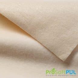 ProSoft® Stretch-FIT Organic Cotton Fleece Waterproof 1 mil PUL Natural