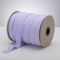 Latex Free 25mm ProStretch™ Plush Fold Over Elastic (FOE) - Light Lavender