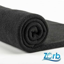 Zorb® Microfibre Terry Plus Black