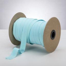 Latex Free 25mm ProStretch™ Plush Fold Over Elastic (FOE) - Seaspray