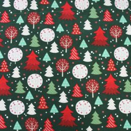 Forest Christmas Cotton