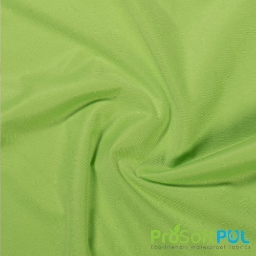 ProCool Athletic Interlock Fabric with SILVADUR COOLMAX Lime Green