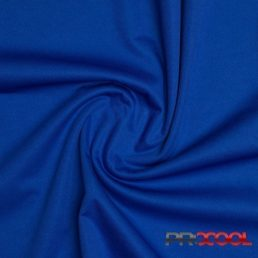 ProCool Athletic Interlock Fabric with SILVADUR COOLMAX Saturn Blue - By the Roll