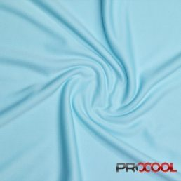 ProCool Athletic Interlock Fabric with SILVADUR COOLMAX Seaspray