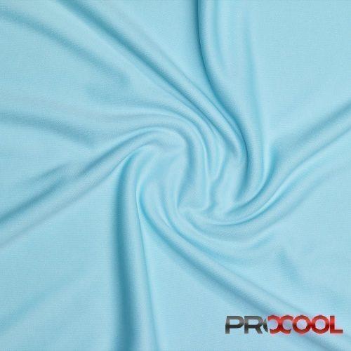 ProCool Athletic Interlock Fabric with SILVADUR COOLMAX Seaspray