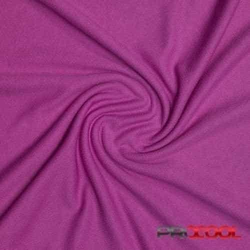 ProCool® Athletic Jersey Mesh Fabric with COOLMAX® Rich Orchid