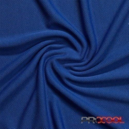 ProCool® Athletic Jersey Mesh Fabric with COOLMAX® Saturn Blue