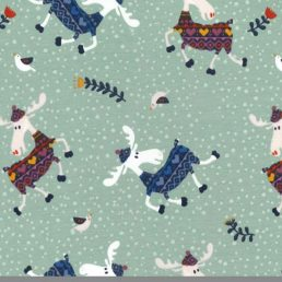 Loose Moose Cotton Jersey Fabric