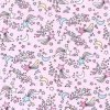 Star Shower Pink Cotton Fabric