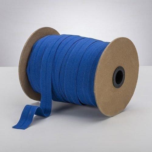 Latex Free 25mm ProStretch™ Plush Fold Over Elastic (FOE) - Saturn Blue