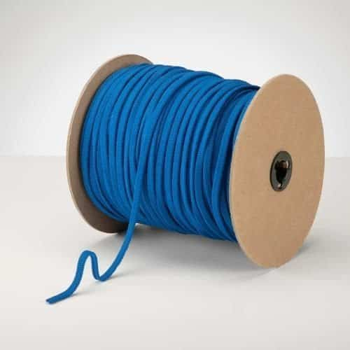 Latex Free 5mm ProStretch™ Plush Knitted Elastic Royal Blue