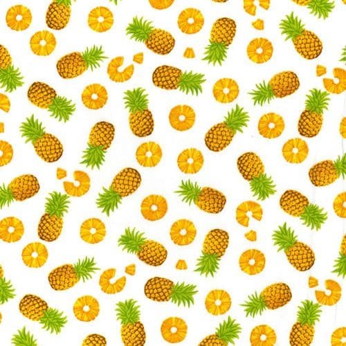 Pineapple Express Cotton Fabric