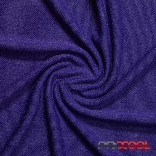 ProCool® Athletic Jersey Mesh Fabric with Coolmax® Purple