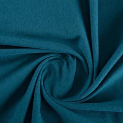 ProEco® Stretch-FIT Organic Cotton Jersey Lite Fabric Blue Spruce