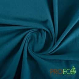 ProEco® Stretch-FIT Organic Cotton Jersey Lite Fabric Blue Spruce