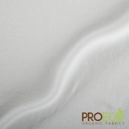 ProEco® Stretch-FIT Organic Cotton Jersey Lite Fabric Frost