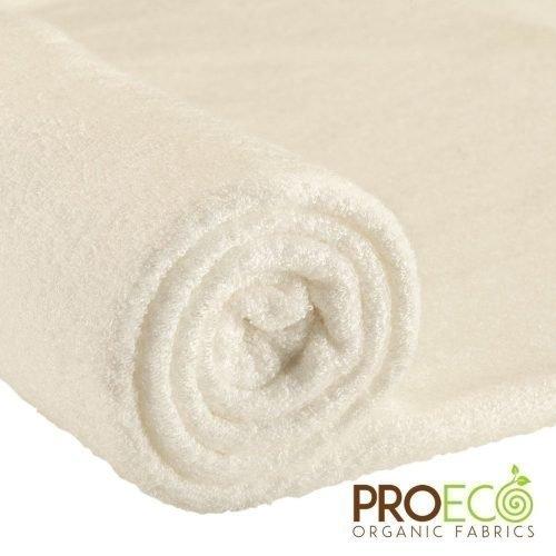 ProEco® Bamboo Loop Terry Towelling Waterproof 1 mil PUL - Natural White
