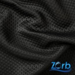 Zorb 3D Dimple Black Wrinkle Logo