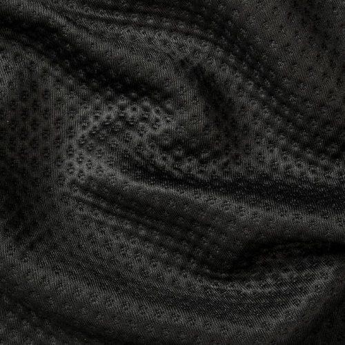 Zorb® 3D Organic Cotton Dimple Fabric Black