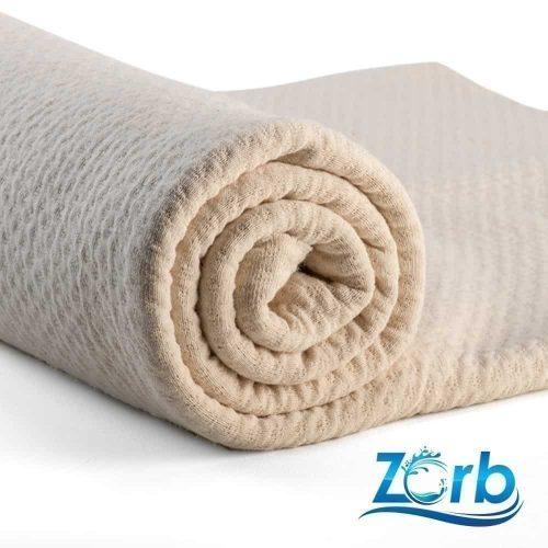 50cm x 150cm (Flaw) Zorb® 3D Organic Cotton Dimple Fabric