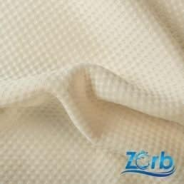 Zorb® 3D Organic Cotton Dimple Fabric