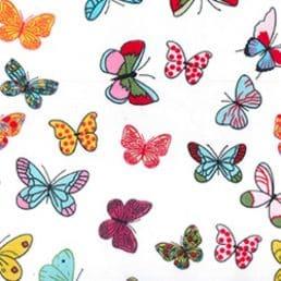 Bright Butterflies Cotton Fabric