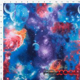 ProCool Athletic Interlock Fabric with COOLMAX Blue Galaxy Tape Logo