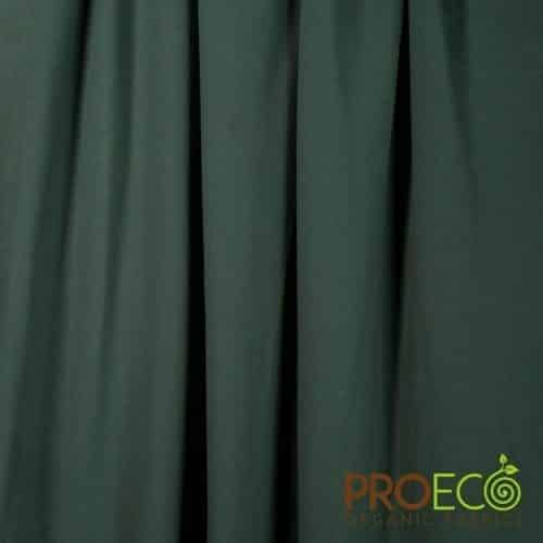 ProEco Stretch-FIT Heavy Organic Cotton Jersey Forest Night Ripple Logo