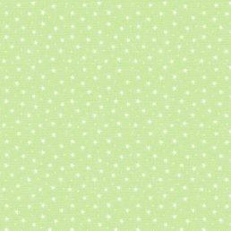 Tiny Stars on Pistachio Cotton Fabric