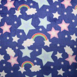 Shooting Stars Cuddle Fleece
