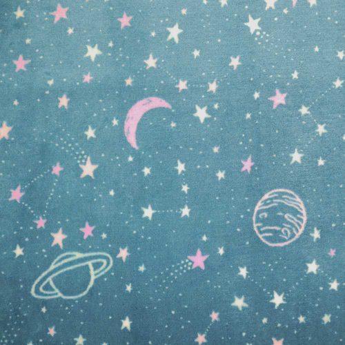 Space Cuddle Fleece Lilac