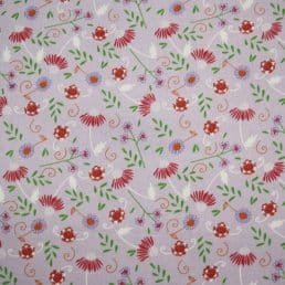 Cute Florals Lilac Ditsy Cotton Fabric