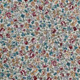 Flower Sketch Cotton Fabric