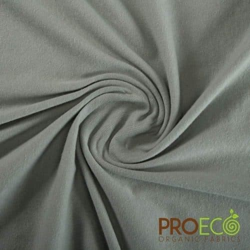 ProEco® Stretch-FIT Organic Cotton SHEER Jersey LITE Fabric Crisp Sage