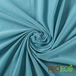 ProEco® Stretch-FIT Organic Cotton SHEER Jersey LITE Fabric Waterway - By the Roll