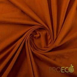 ProEco® Stretch-FIT Organic Cotton Jersey Lite Fabric Ember