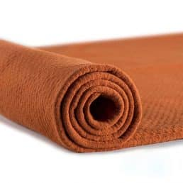 ProEco® Stretch-FIT Organic Cotton Jersey Lite Fabric Ember - By the Roll