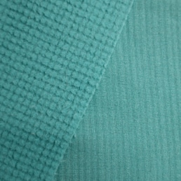 Teal Polartec Power Grid Jersey-Shearling 9400