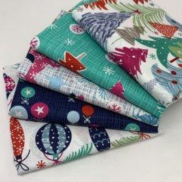 Colourful Christmas - Fat Quarter Bundle